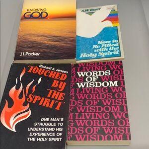 Other - Vintage Christian paperback books